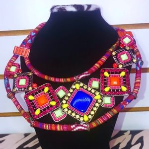 Tribal Red Necklace